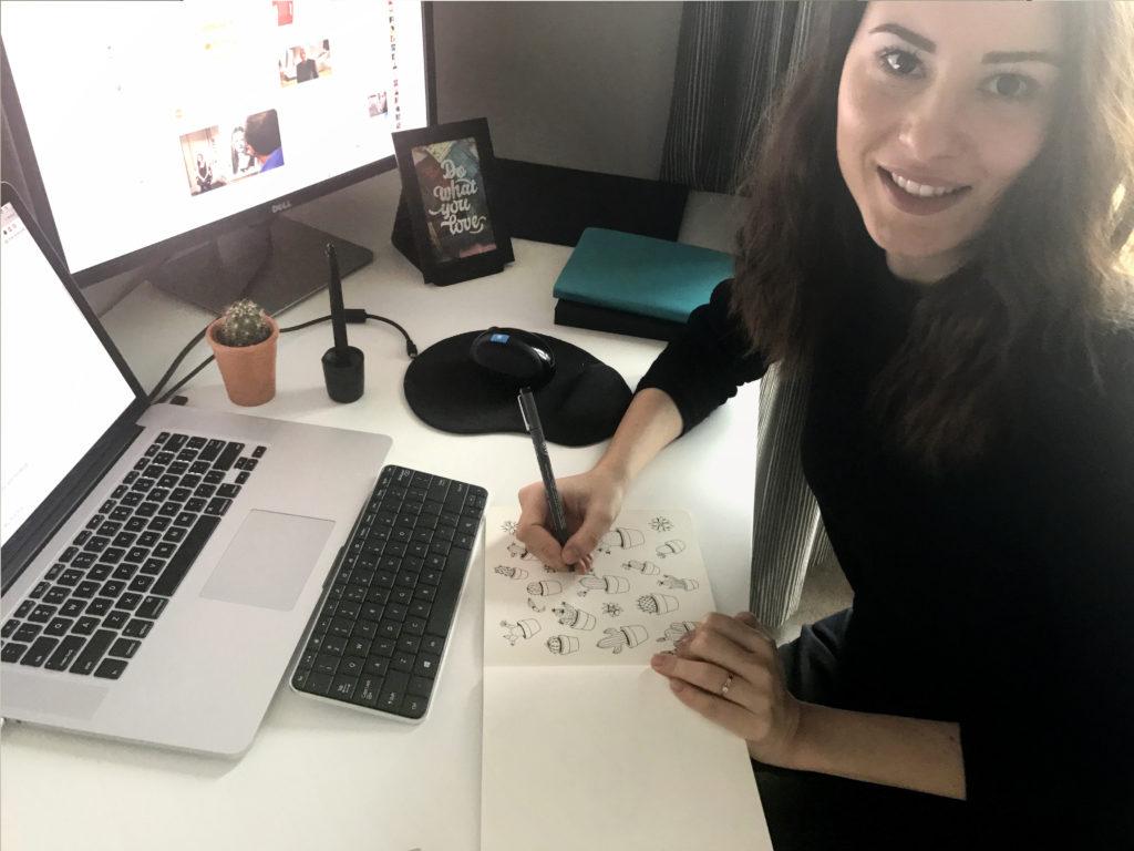 Miruna Sfia Talk Illustration