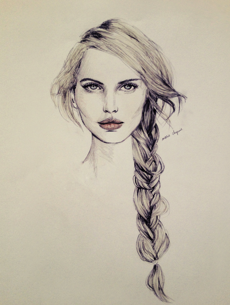 Interview with fashion illustrator and art director Marie Chapuis