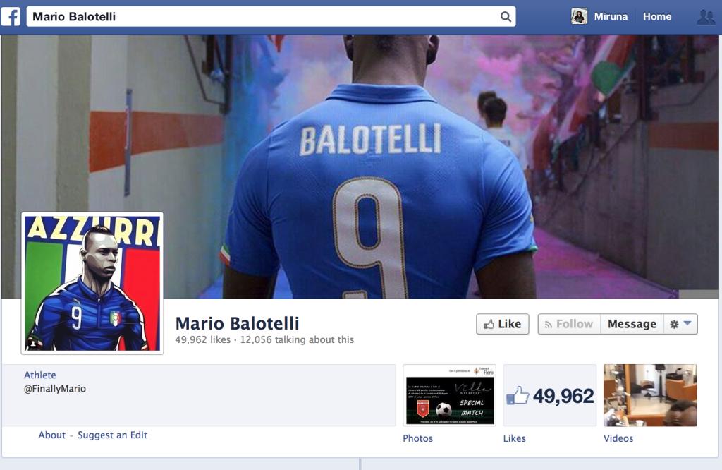 The 2014 World Cup illustrations - Mario Balotelli