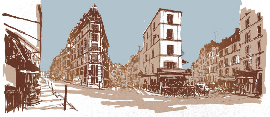 Paris Illustrated: Interview with illustrator Nathan St John