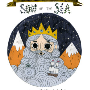 Illustrations from the Isle of Man folklore - Interview with illustrator Bethany Grace White 1