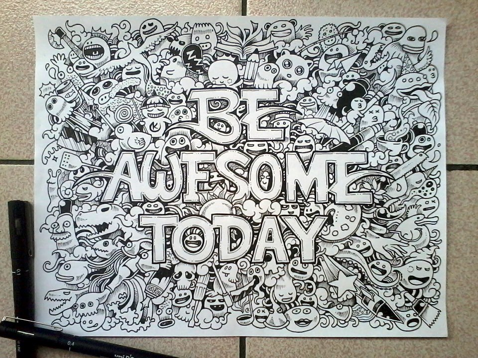 Amazing Quotes To Draw: Interview With Doodle Artist Kerby Rosanes