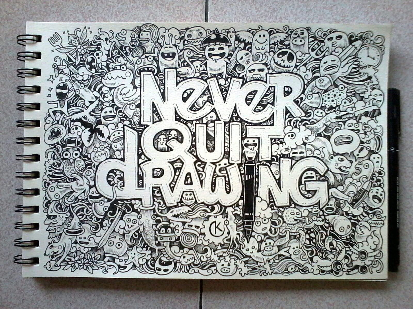 Interview with doodle artist kerby rosanes friday for Drawing design ideas
