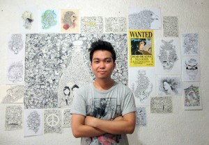 Interview Kerby Rosanes doodles
