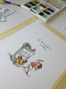 Interview with children's book illustrator and animator Qin Leng