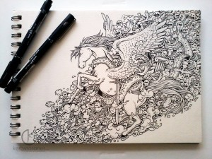 Kerby Rosanes doodles interview