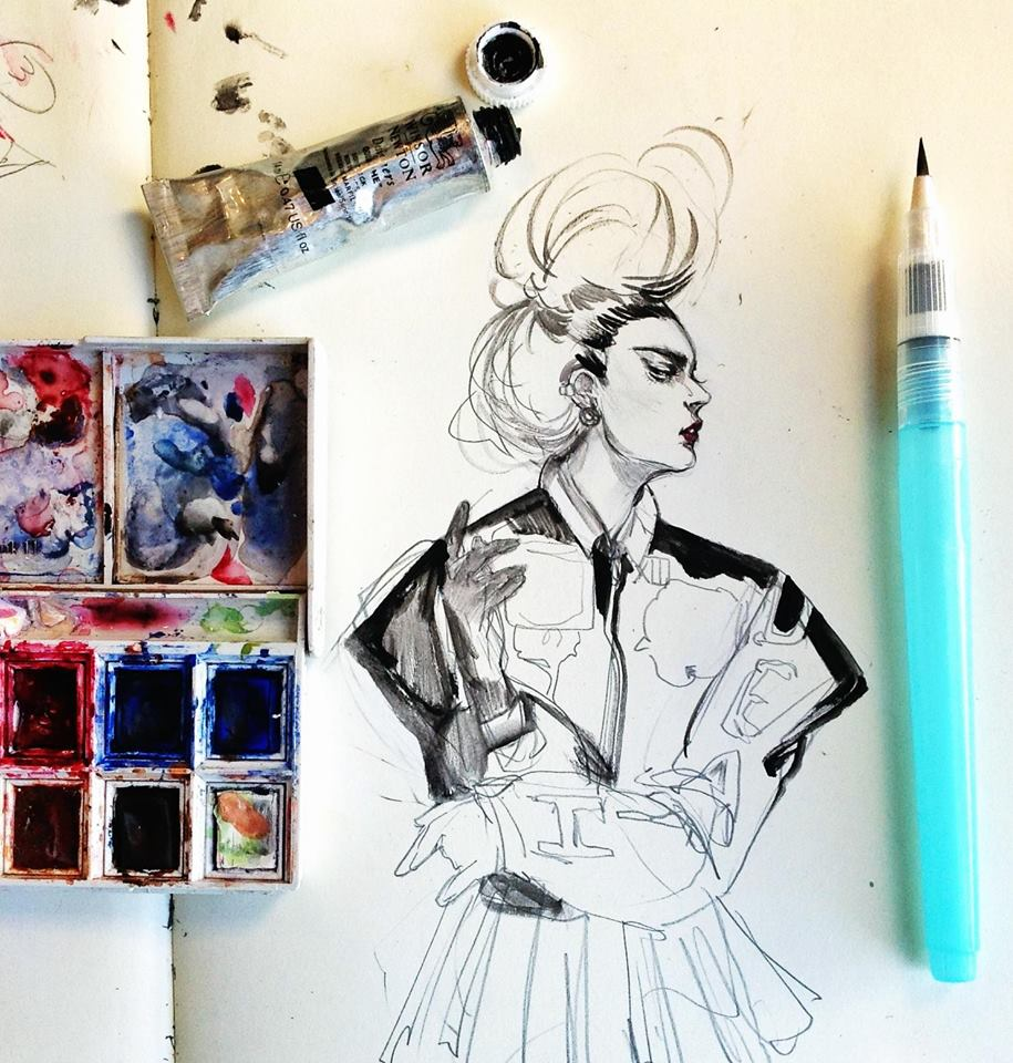 Interview with fashion illustrator Connie Lim