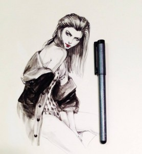 Interview with fashion illustrator Connie Lim - FaInterview with fashion illustrator Connie Lim - Fashion playing cardsshion playing cards