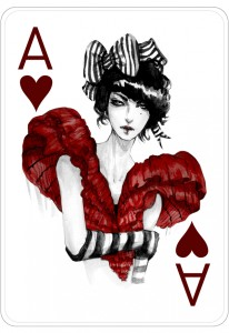Interview with fashion illustrator Connie Lim - Fashion playing cards