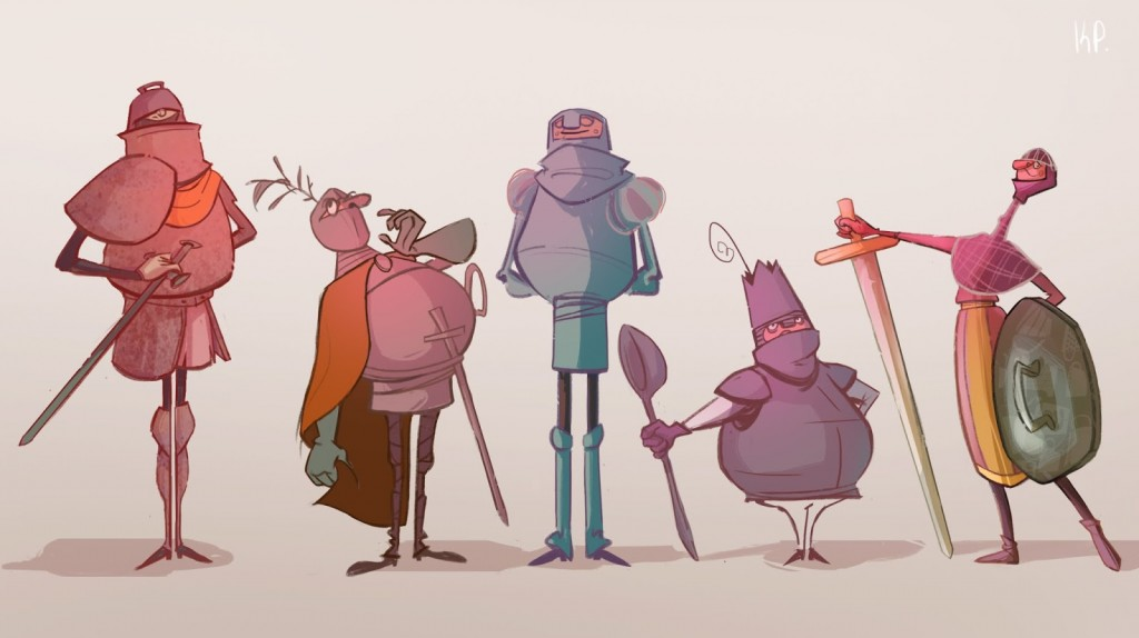 Interview with character animator and visual development artist Katerina Pantela