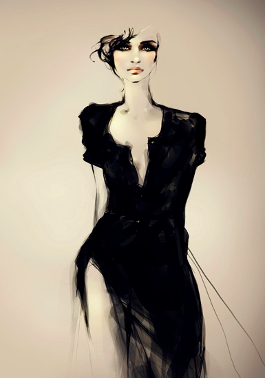 Interview with fashion and beauty illustrator Joanne Young