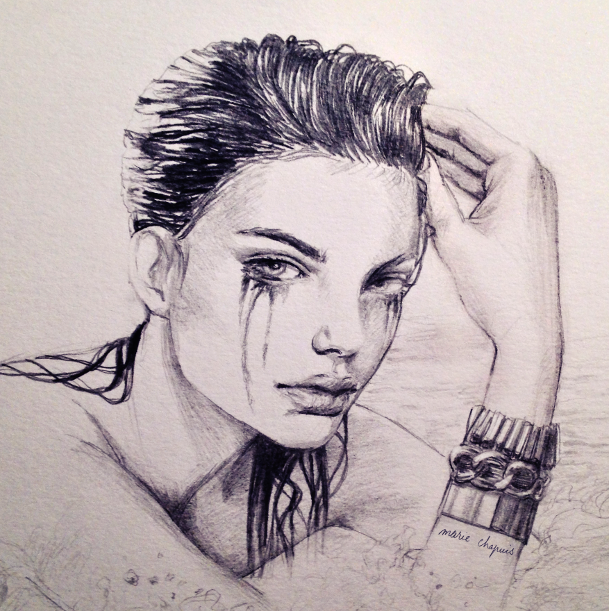 d8d650e71dd63 Interview with fashion illustrator and art director Marie Chapuis ...