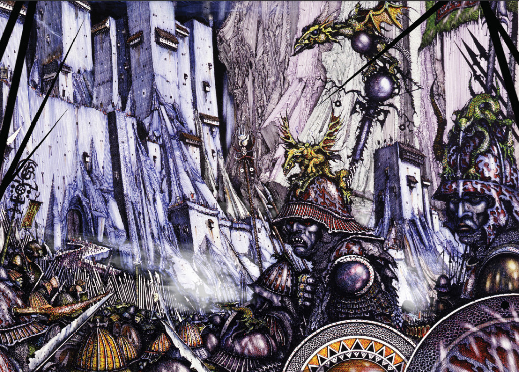 Interview with British illustrator Ian Miller