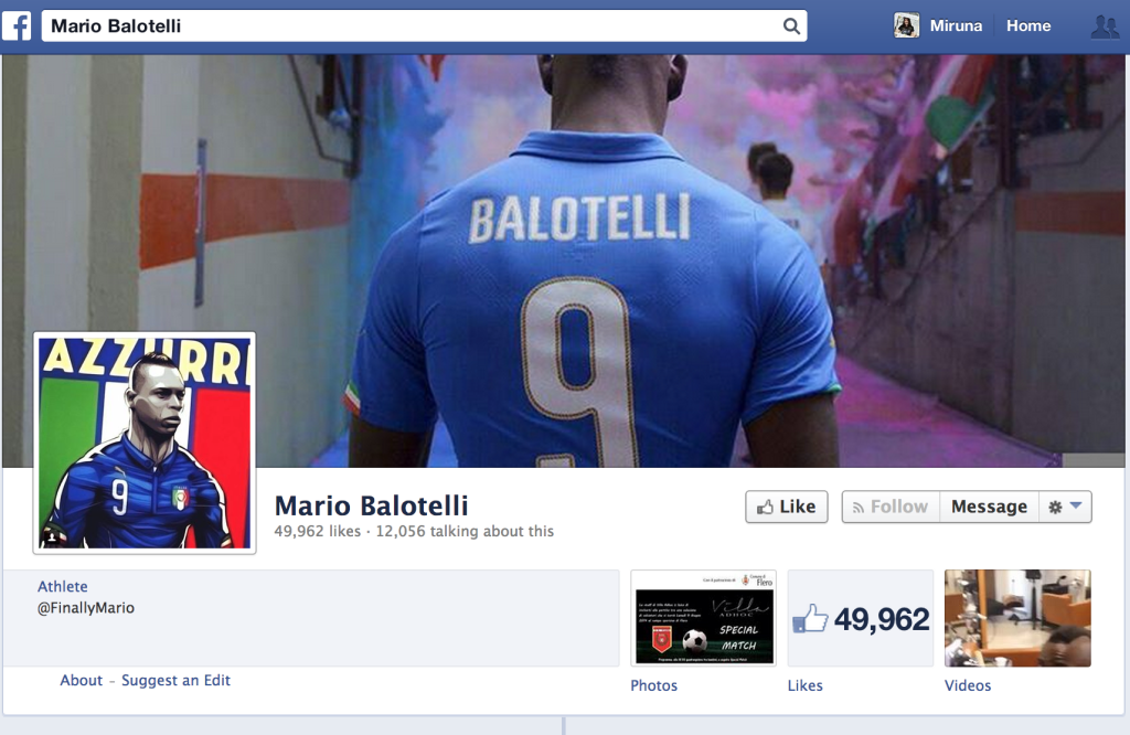 The 2014 World Cup illustrations - Mario Balotelli