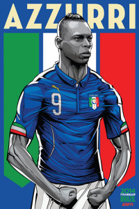 Cristiano Siqueira 2014 World Cup illustrations