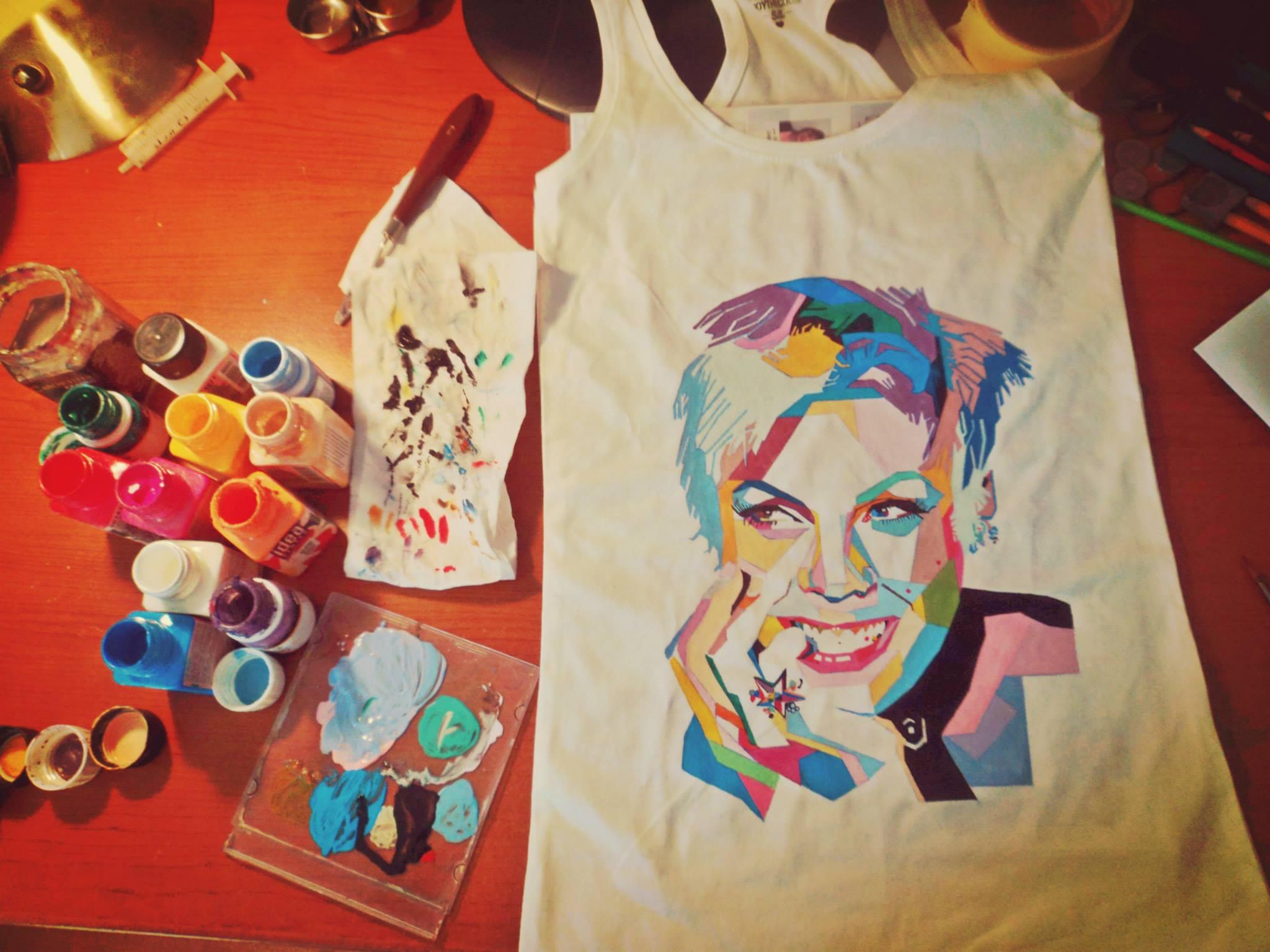 Fabric Paint Artists