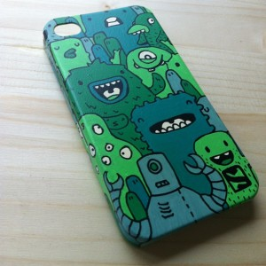 Monsters doodle art and handmade illustrated wearables with Samnuts (Interview)