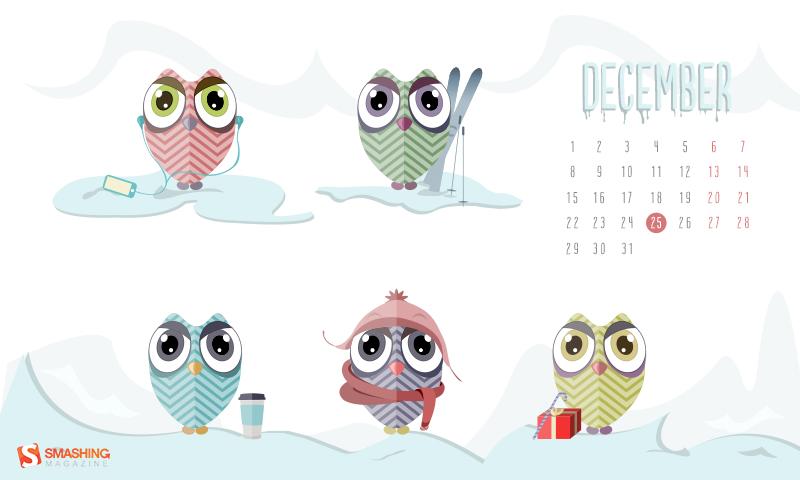 Miruna Sfia desktop wallpaper calendar featured in Smashing Magazine