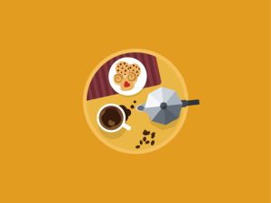 Featured project- Icon a Day with Marko Stupic breakfast