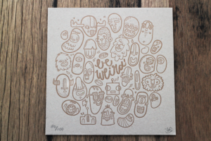 Lienke Raben's doodle-ish illustrations