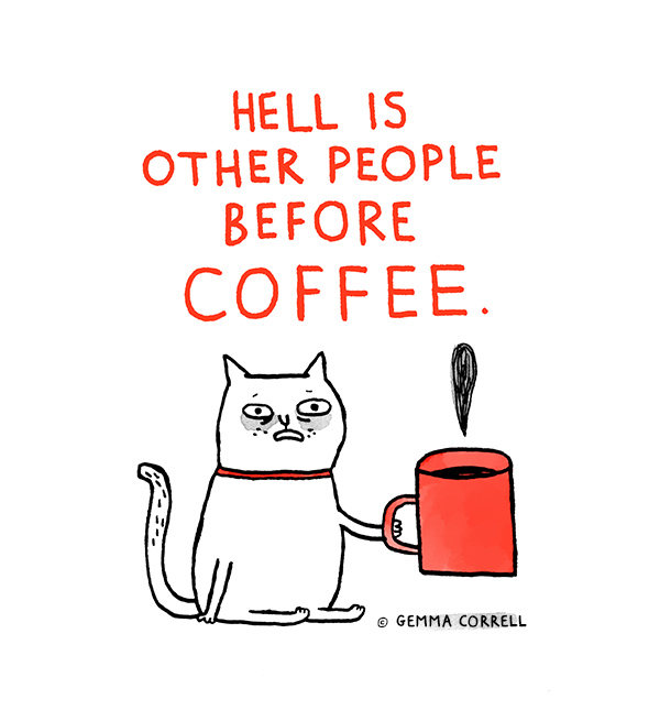 Gemma Correll's funny, self-deprecating cartoons