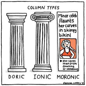 Gemma Correll's funny, self-deprecating cartoons