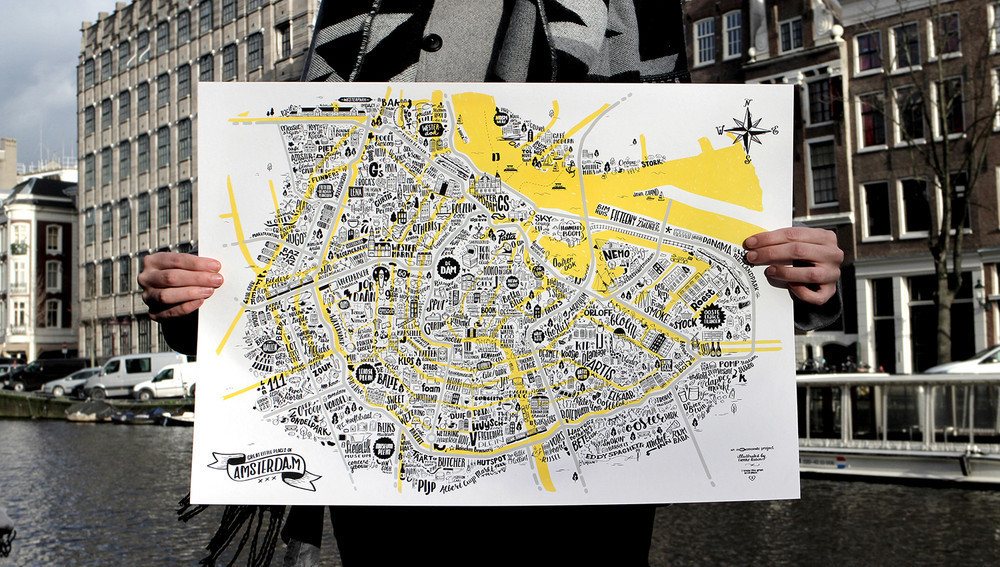 "Interview with Lienke Raben - The ""Great Places Of Amsterdam"" map is also a reflection of places I like"