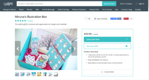 Marketplace Miruna's Illustration Box - Creative Entrepreneur Lessons