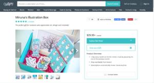 Marketplace Miruna's Illustration Box - Creative Entrepreneur Lessons