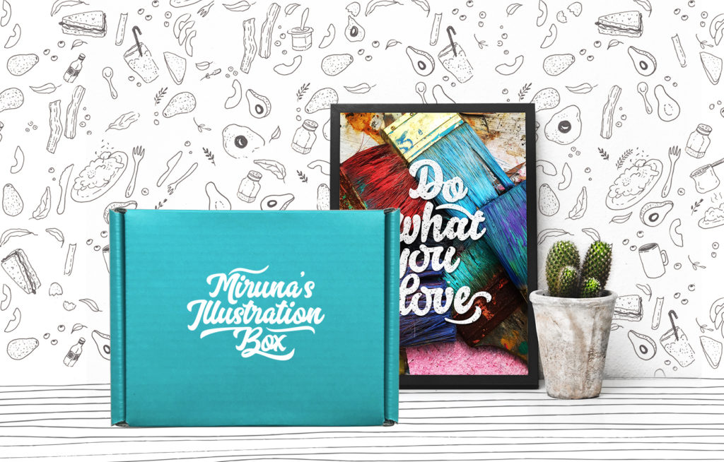 Miruna's Illustration Box - Creative Entrepreneur Lessons